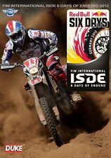 FIM International Six Days Enduro - Official Review 2012 (New DVD) isde