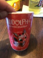 Rudolph The Red Nosed Reindeer Plastic Cup