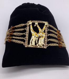 QVC Giraffe Bracelet (Back In Stock) Retail $49