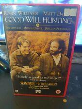 Good Will Hunting - BIG BOX EX RENTAL VHS - ROBIN WILLIAMS - MATT DAMON