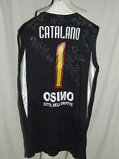 Shirt Maillot Tank Top Basketball Robur Osimo Catalan 1 Signed