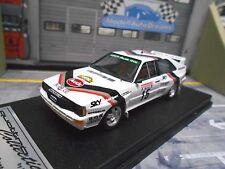 AUDI Quattro Rallye Hunsrück 1985 DRM #15 Bosch Sky Ba 1/250 Scala43 Trofeu 1:43