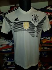 GERMANY 2018 HOME SHIRT SIZE M DEUTSCHLAND DFB JERSEY TRIKOT MAGLIA (n239)