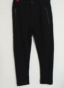 New Zara boys black pants sz 11-12 years