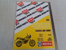CATALOGO RICAMBI ORIGINALE MOTORE APRILIA TUAREG WIND 600 1988 MOTORE 650 E