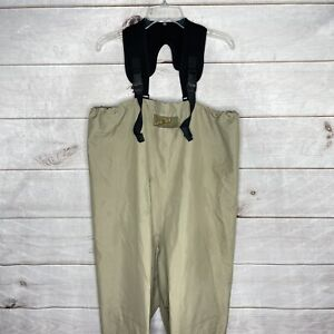 Cabela's Dry-Plus Fly Fishing Neoprene Stocking Foot Chest Waders Sz M