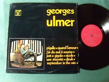 """GEORGES ULMER """"Pigalle"""" LP CONCERT HALL SMS 2636 Jean Claudric & Jean Musy"""