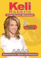 Keli Roberts: A.S.A.P.( Abdominals,Spine & Posture ) (DVD, 2007)