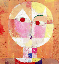 Paul Klee Reproduction: SENECIO - Fine Art Print