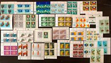 Lot of United Nations Vienna Blocks of 4 Stamps MNH