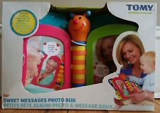 Tomy Sweet Messages Photo Bug Electronic Learning Toy NEW