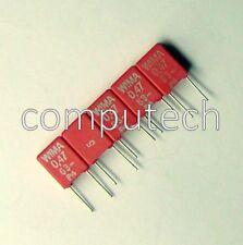10 pezzi Condensatore Poliestere 470nF 63V 5% WIMA MKS2 Series (PET) Capacitors