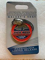 2019 WDW *Star Wars Galaxy's Edge - Landing* Passholder Exclusive LR pin