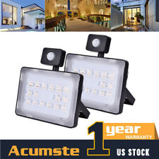 New listing 50W Led Flood Light Outdoor Waterproof Spotlight Warm White Garden Security Lamp
