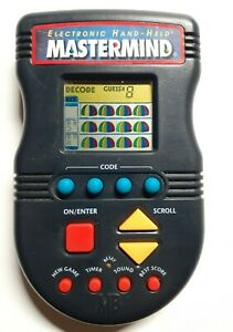 Mastermind Electronic Hand Held Game Hasbro 1997 Tested Working