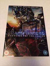 Transformers - Revenge Of The Fallen (DVD, 2-Disc Set) special edition, uk dvd