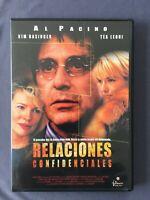 DVD RELACIONES CONFIDENCIALES Al Pacino Kim Basinger Tea Leoni DANIEL ALGRANT