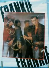 Frankie Goes To Hollywood Poster 1984 Vintage Anabas Import 80'S Pop Band