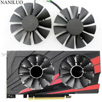 Cooler fan For ASUS STRIX GTX1050 Ti GTX 1050Ti RX 460 RX560 T128010SH 75mm