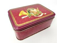 Vintage - Tin Tins Box Container Christmas / Holiday's / Music / Love and Peace