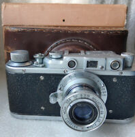 ZORKI  Repair Service USSR Russian Leica copy 35 mm RF Camera boxed 395979