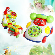 New Educational Developmental Kids Gifts Baby Toys Music Cartoon Phone Mobile