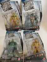 "DC Justice League Parademon and Atlantean Guards - 6"" Figure Lot of 4"