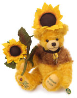 Sunflower limited edition teddy bear by Hermann Spielwaren - 20280-4