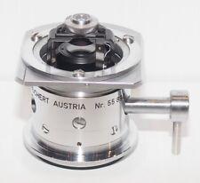 Reichert Zetopan Microscope Two diaphragm Brightfield Condenser 0.95 & 1.30 N.A.