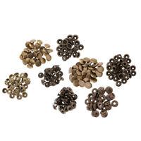 60 Sets No Sew Snap Button Press Stud Leather Bag Coat Rapid Rivet Fasteners