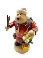Vintage Erzgebirge Volkskunst Santa Smoker-Made in Germany Nutcracker Style