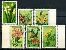 Saint Thomas and Prince Islands 1979 Mi. 568-573 Used 100% Nature plants Flowers