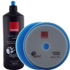Rupes 1ltr Coarse ZEPHIR Scratch/Paint Defect Repair Compound Gel & Foam Set