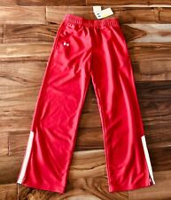 Under Armour Womens Sweatpants Red and White XS NWT
