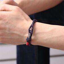 Paracord Survival Rope Chain Bracelets Men Women Nautical Outdoor Sport Camping