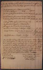 1757 John Hancock Autograph Document Signed (PSA/DNA Authentic)