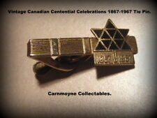 Canadian Centential Celebrations Gold Lacquered&Enamel Tie-Pin1867-1967.AH3792.
