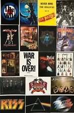 More details for rock collection of 18  postcards incl maiden,sex pistols, who etc.