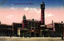 Gand, La Gare St. Pierre, Feldpost um 1915