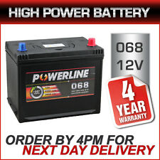 Powerline 068 Car Battery - fits many Kia Lexus Mazda Subaru Suzuki Toyota