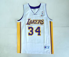 LAKERS O'NEAL VINTAGE SHIRT BASKET NBA CHAMPION BASKET JERSEY