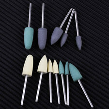 12pc Dental Silicone Polishing Kit Resin Base Polish Bur for Low-Speed Handpiece