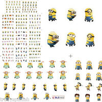 Minions Nail Art Water Decals Nail Stickers Transfers Despicable Me Minions