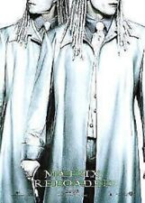 THE MATRIX RELOADED MOVIE POSTER ~ TWINS ADVANCE 27x39 Adrian & Neil Rayment