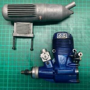 OS 65 LA ENGINE + EXHAUST - SC/ASP