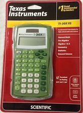 Texas Instruments TI-30X IIS 2-Line Solar Scientific Calculator (Lime Green,New)