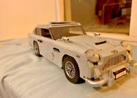 James Bond 007 Aston Martin Building Blocks Kit Bricks Set Educational CAR New