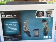 Halloween Animated SEE SAW DOLLS PLAYGROUND Haunted House Prop NEW 2017