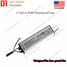 Constant Current LED Driver 50W Lamp Light Bulb Waterproof Power Supply USA