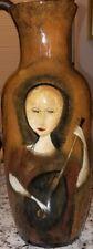 """Rare Pristine Polia Pillin Large Art Pottery """"NO CRAZING"""" Dolores Sutton Estate"""